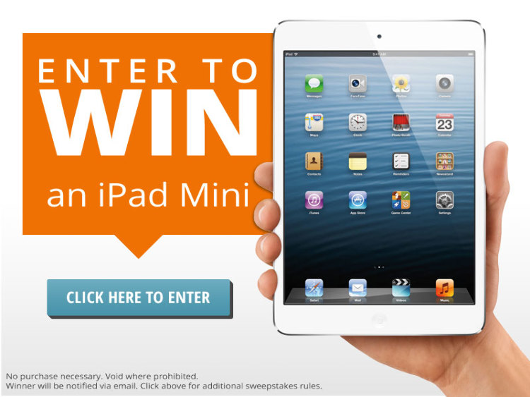 New Facebook Sweepstakes! Enter to Win an iPad Mini! - Liss