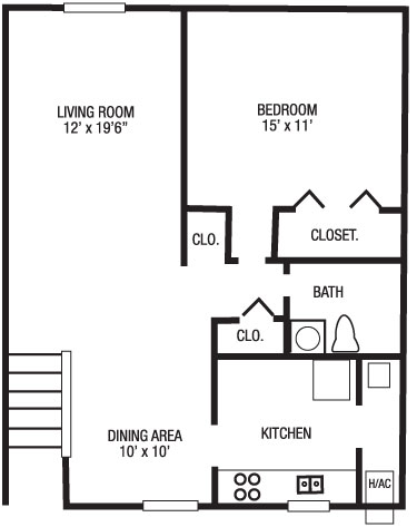 1 bedroom townhouse. 1 Bedroom Townhouse  Brookshire Trace Townhomes Liss Property Group