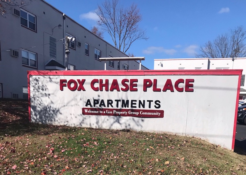 Fox Chase Sign 2